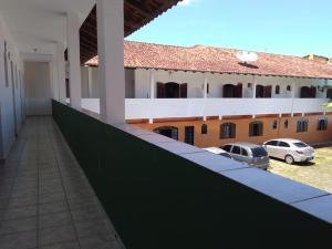 A balcony or terrace at San Marino Hotel