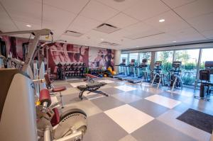 The fitness center and/or fitness facilities at Texas A&M Hotel and Conference Center