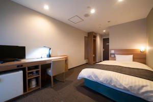 Televisi dan/atau pusat hiburan di HOTEL CITY INN WAKAYAMA Wakayama-Ekimae