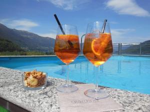 The swimming pool at or near Hotel Giardino