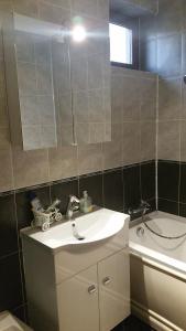 A bathroom at Cristalex Villaverde Bucharest
