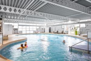 The swimming pool at or near Langstone Quays Resort