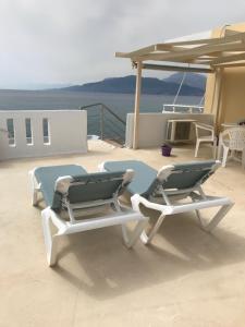 En balkong eller terrass på Crysalis Studios