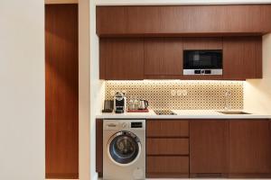 A kitchen or kitchenette at Shaza Riyadh