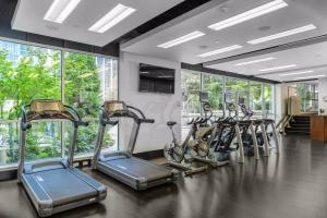 The fitness center and/or fitness facilities at Loden Vancouver