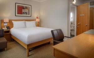 A bed or beds in a room at Hilton York