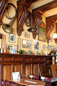 Restaurant ou autre lieu de restauration dans l'établissement Hotel Prins Hendrik