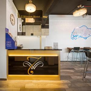 Lobby/Rezeption in der Unterkunft 7 Wonders Hostel @ Upper Dickson (SG Clean)