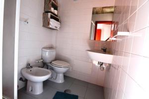 A bathroom at Sentinela