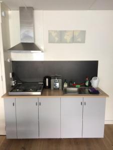 Een keuken of kitchenette bij Green Garden House