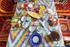 Завтрак для гостей Гостевой дом Фуркат