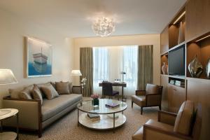 Uma área de estar em Alvear Art Hotel
