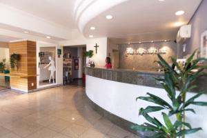 The lobby or reception area at Bristol Sabrina Hotel