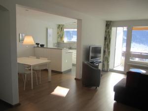 TV/Unterhaltungsangebot in der Unterkunft Apartment Alpenblick Superior