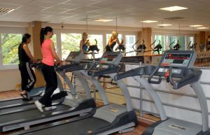 The fitness centre and/or fitness facilities at Sport Hotel