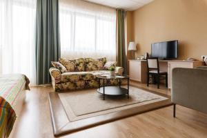 Гостиная зона в Мини-отель Золотой Ручей