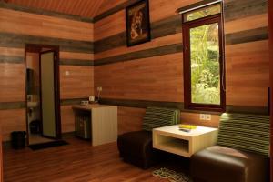 A seating area at Taman Safari Lodge