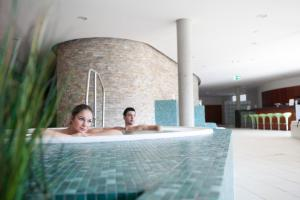 The swimming pool at or near Hotel an der Therme