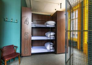 A bunk bed or bunk beds in a room at PubLove @ The White Ferry, Victoria