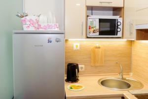Кухня или мини-кухня в Apartment VLcome Rooms