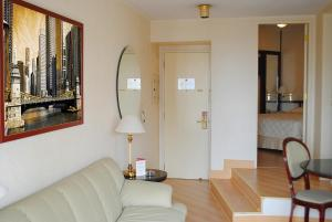 Um banheiro em Travel Inn Paulista Wall Street