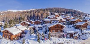 Park Chalet Village durante l'inverno