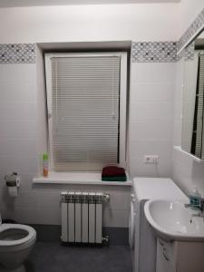 A bathroom at Apartment in Glazynino