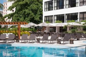 The swimming pool at or close to Wish Hotel da Bahia