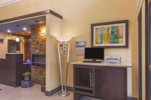 A television and/or entertainment center at La Quinta by Wyndham Elizabethtown