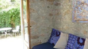 A bathroom at Gite de La Jasse
