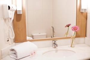 Ванная комната в ibis Novo Hamburgo