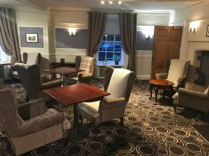 A seating area at Best Western Priory Hotel