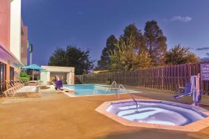 The swimming pool at or near La Quinta Inn by Wyndham Austin North
