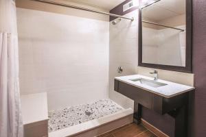 A bathroom at La Quinta by Wyndham Sturbridge