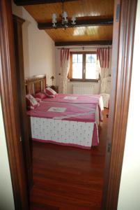 Cama o camas de una habitación en Lugar do Sixto