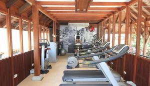 The fitness center and/or fitness facilities at Pavilion Samui Villas and Resort - SHA Plus