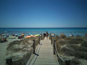 Een strand bij of vlak bij het aparthotel
