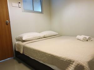 Cama o camas de una habitación en Rainbow House