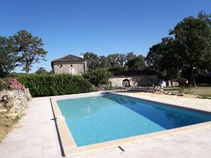 The swimming pool at or near Les Chambeaux