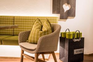 Posezení v ubytování Landhaus Trinker