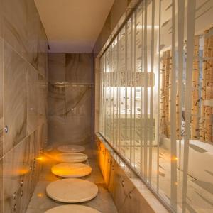 A bathroom at Hotel Terme Vena D'Oro