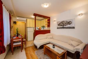 Posezení v ubytování Town Square Cippico Apartment