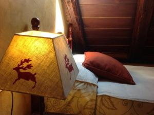 A bed or beds in a room at Pradets