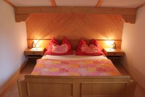 A bed or beds in a room at Appartement Harmonie & Balance