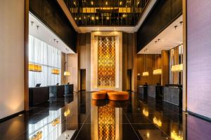 The lobby or reception area at Grand Hyatt Bogota