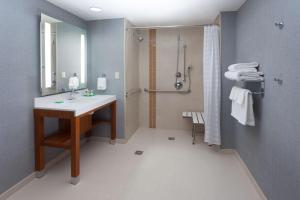 A bathroom at Hyatt Place Austin Downtown
