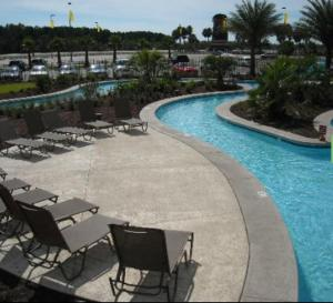 The swimming pool at or near Seven Clans Hotel at Coushatta