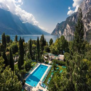 A view of the pool at Du Lac Et Du Parc Grand Resort or nearby