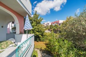 A balcony or terrace at Albergo Residenziale Gli Ontani