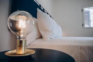 Letto o letti in una camera di Le canne Bed and Relax